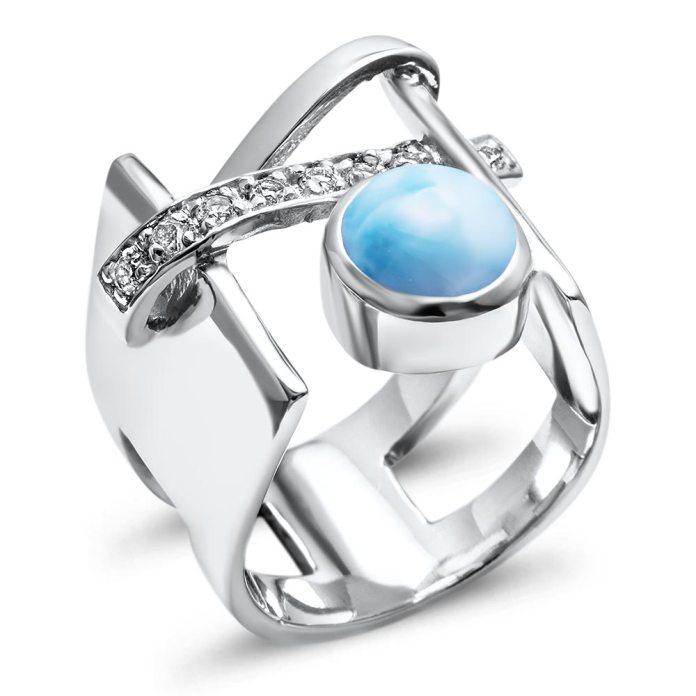 Marahlago Larimar Ring