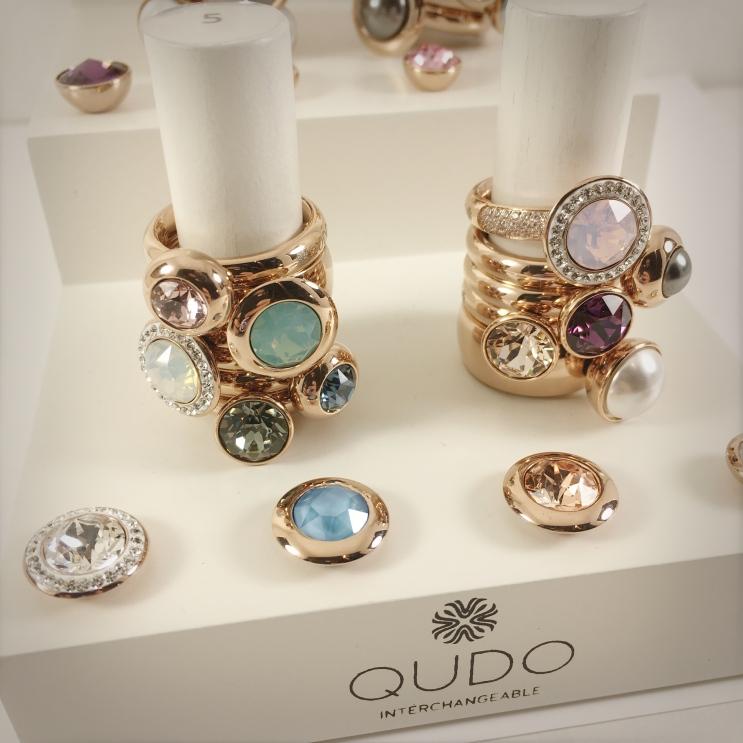 QUDO interchangeable jewelry